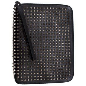 Christian Louboutin Panettone Spikes Zip Clutch
